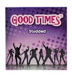 Good Times Studded - kondomy s hrbolčekovitým povrchem (3 ks)