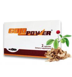 Gold Power kapsle afrodiziakum pro muže 2ks