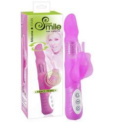 SMILE Fancy Pearl - vibrátor (růžový)