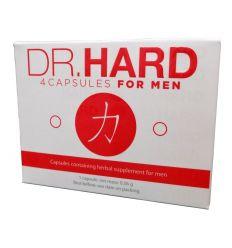 Dr. Hard - kapsle pro muže (4 ks)