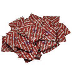 London - jahodový kondom (100 ks)