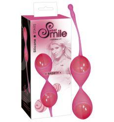 SMILE Sporty - kuličky rozkoše (pink)