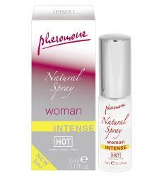 HOT natural - intenzivní parfém s obsahem feromonů (dámský)