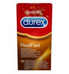 Durex Real Feel kondomy bez latexu 10 ks