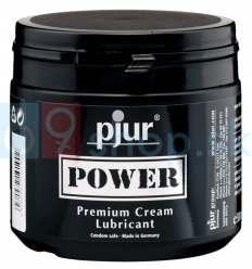 Lubrikační krém Pjur Power na bázi vody a silikonu 500ml