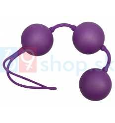 Velvet fialové kuličky rozkoše - trio