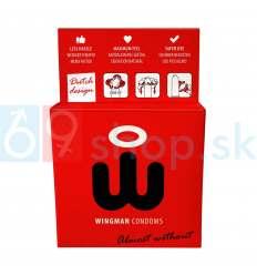 Wingman prezervativy nasadíte jednou rukou 3ks