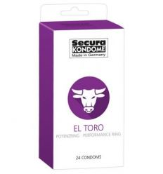 Kondomy Secura El Toro condom 24ks