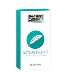 Kondomy Secura Nature Feeling condom 12ks