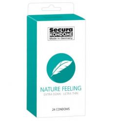Kondomy Secura Nature Feeling 24ks