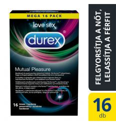 Durex Mutual Pleasure comdoms 16ks