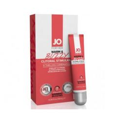 Gel na klitoris s hřejícím a stimulačním efektem System JO Warm & Buzzy Original 10ml
