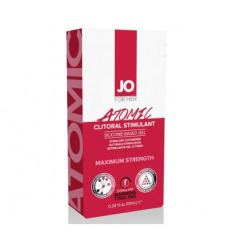 hřejícího a stimulující gel na klitoris System JO Warming Atomic 10ml