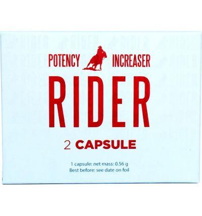 Výživový doplněk na lepší erekci Rider 2ks / 4ks