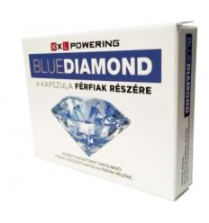 Na libido a erekci Blue Diamond 4ks