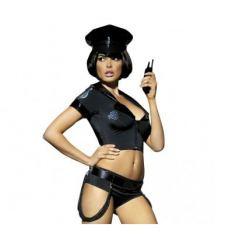 Erotický kostým policistka Obsessive Police Set Costume S / M