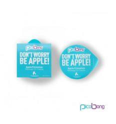 Masážní svíčka PicoBong Dont Worry Be Apple jablko-skořice