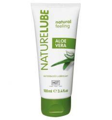 Lubrikační gel HOT NatureLube Aloe Vera Water-based Lubricant 100ml