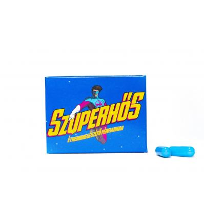 Afrodiziakum Superheroes for Mens Supplements 3ks