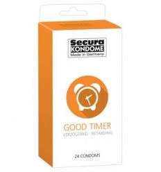Kondomy s benzokain Secura Good Timer 24ks