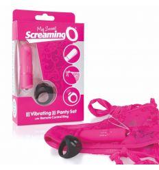 Vibrační kalhotky The Screaming O Remote Control Panty Vibe růžové