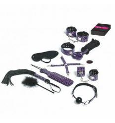 Vzrušující erotická hra pán a sluha Master & Slave Bondage Game Purple (NL-EN-DE-FR-ES-IT-SE-NO-PL-RU)