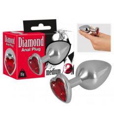 Anální dildo Diamond 85g Aluminum Dumbbell