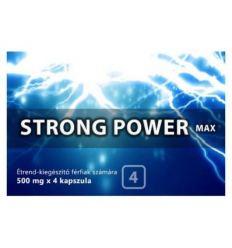 Výživový doplněk pro muže Strong Power Max 4ks