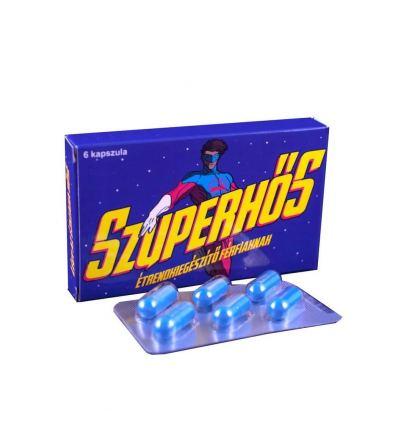 Superhrdina výživový doplněk pro muže 6ks