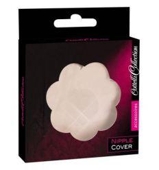 Cottelli Nipple Cover - náplast na bradavky ve tvaru kvítku (tělová barva)