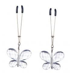 Bad Kitty - motýlkové kolíček na bradavky