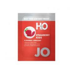JO H2O jahodový bozk - lubrikant na báze vody (10ml)