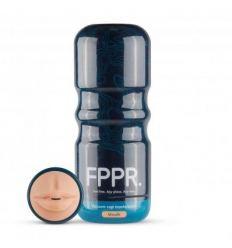 FPPR. Mokka - masturbátor - realistické ústa (telová farba)