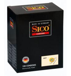 SICO Dry - kondómy bez lubrikácie (100ks)