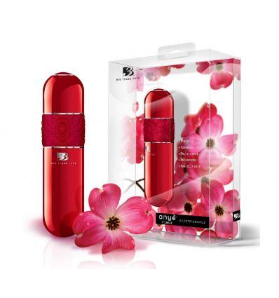 B3 Onyé Fleur - klasický tyčový vibrátor (červený)