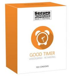 Secura Good Timer - kondómy na oddialenie ejakulácie (100 ks)