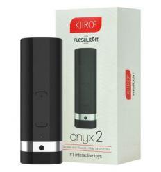 Kiiroo Onyx 2 - interaktívny masturbátor s akumulátorom (čierny)