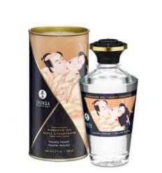 Jedlý hřející olej Shunga Aphrodisiac Warming Oil Vanilla Fetish 100 ml