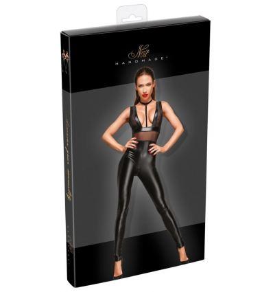 Pružný elastický overal Noir Slim, Glossy Pants overall