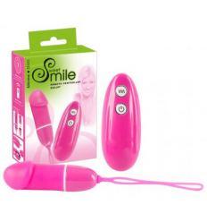 Vibrační vajíčko na bezdrátové ovládání Smile Bullet