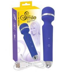Masážní hlavice nabíjecí masážní vibrátor Smile Wand
