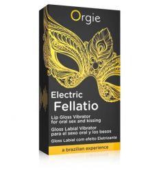 Orgie Electric Fellation - stimulačný lesk na pery (10ml)