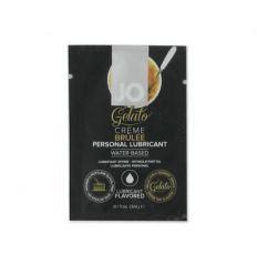 Lubrikační gel na bázi vody JO Gelato Creme Brulee 10ml