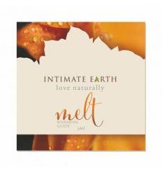 Hřející lubrikační gel Intimate Earth Melt 3ml