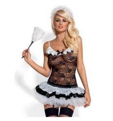 Erotický kostým pokojská Obsessive Housemaid Costume