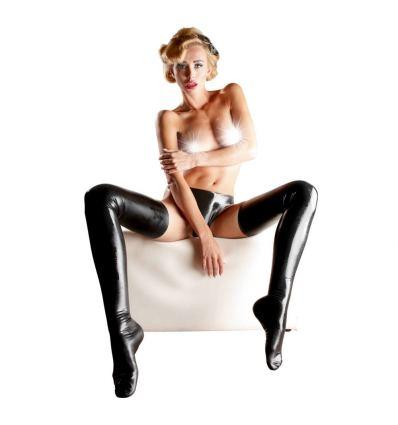 Dámské latexové punčochy Latex Stockings