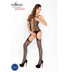 Punčochové erotické body Passion BS023