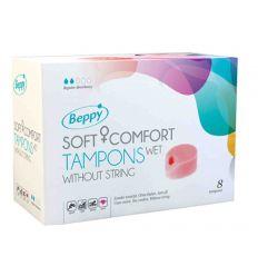 ASHA Beppu SoftComfortTampons 8er wet