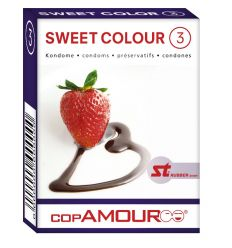 Prezervativ Sweet Colour 3