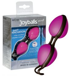 Tajné kuličky rozkoše - růžové / černé (Joyballs)